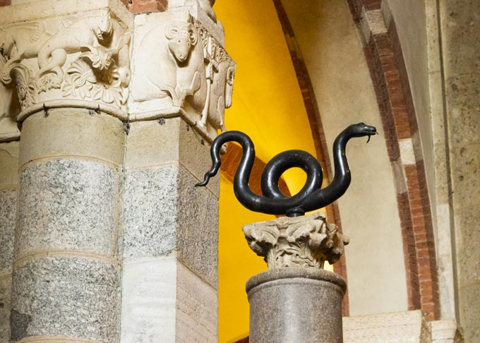 Sant'Ambrogio Bronze Snake