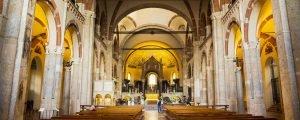 Interno Basilica Sant'Ambrogio
